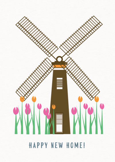 Windmill | Personalised Congratulations Card