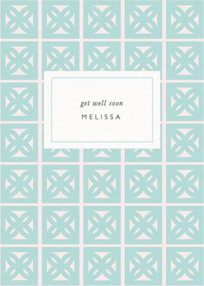 Leaf Blocks | Personalised Greeting Card