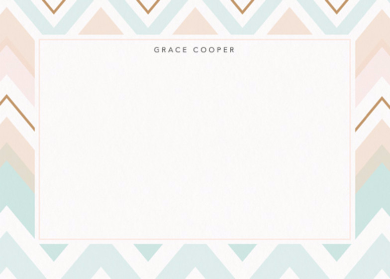 Chevron | Personalised Stationery Set