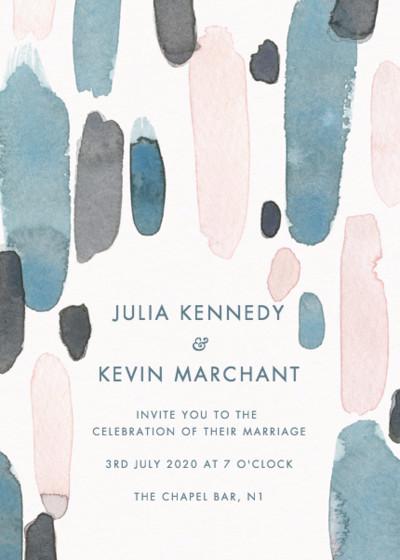St. Ives   Personalised Wedding Invitation