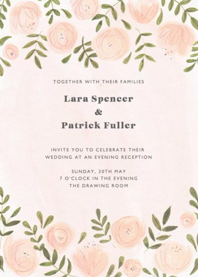 Blush Florals | Personalised Wedding Suite