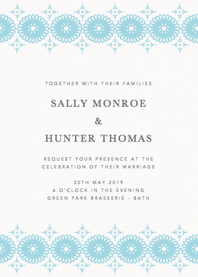 Sanibel | Personalised Wedding Invitation