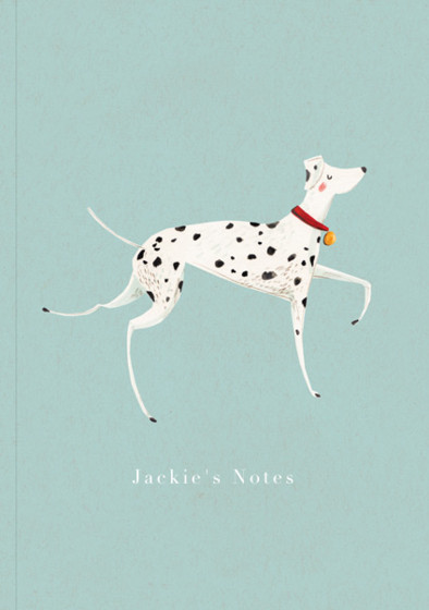 Dalmatian | Personalised Lined Notebook