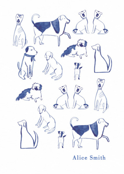 Posh Dogs | Personalised Lined Notebook