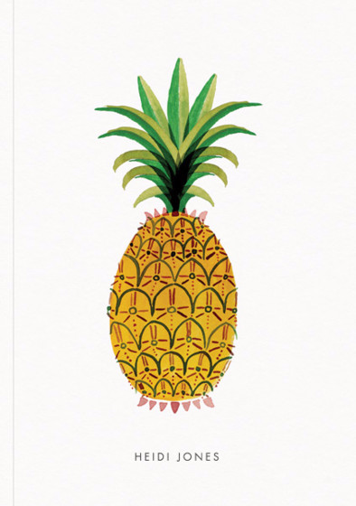 Pineapple | Personalised Lined Notebook