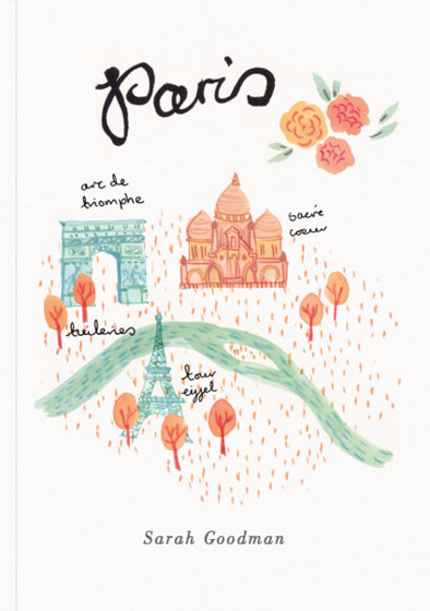 Paris | Personalised Lined Notebook