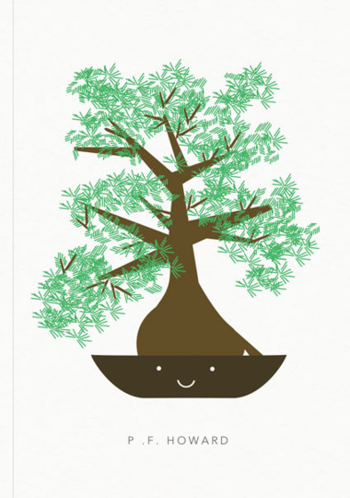 Bonsai | Personalised Lined Notebook