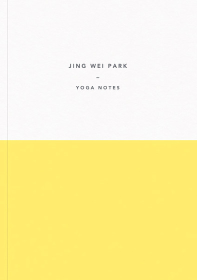Demi Yellow | Personalised Lined Notebook