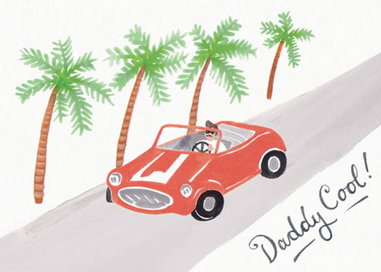 Daddy Cool | Personalised Greeting Card
