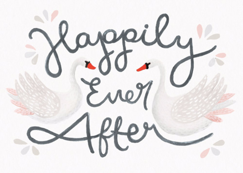 Happily Ever After | Personalised Congratulations Card
