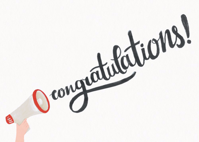 Congrats | Personalised Congratulations Card