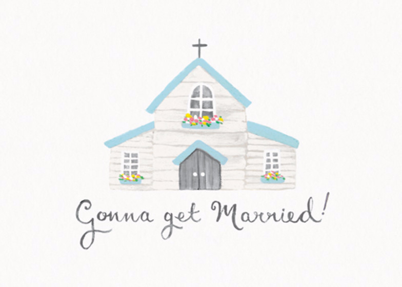 Gonna Get Married | Personalised Congratulations Card
