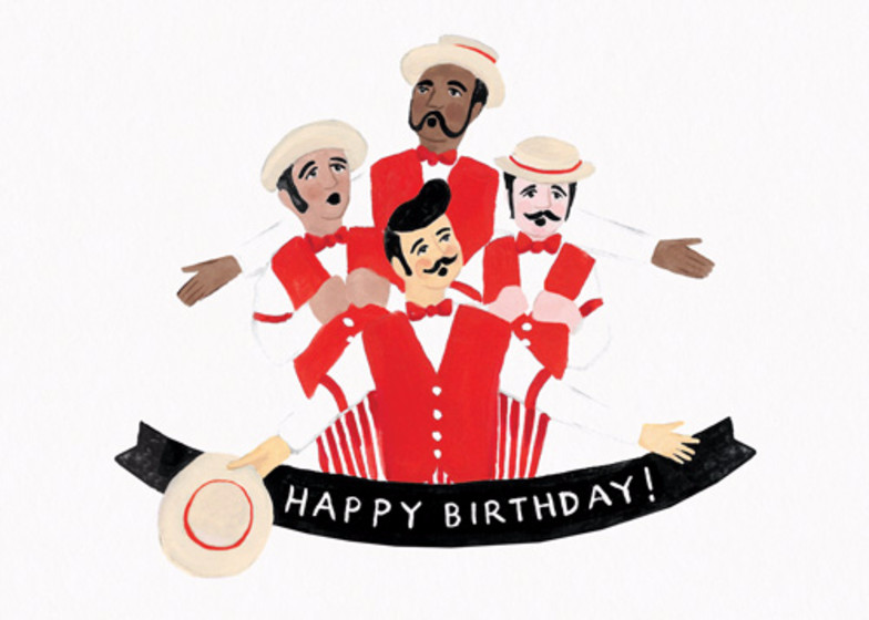 Barbershop Birthday | Personalised Birthday Card