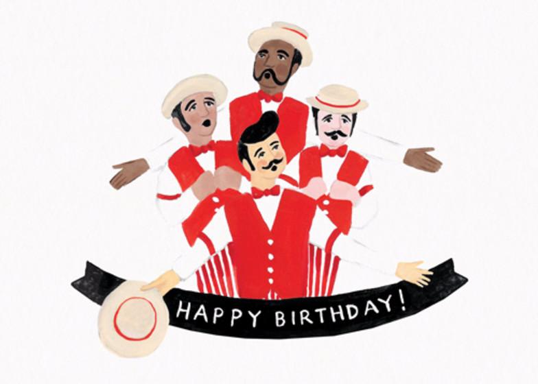 Barbershop Birthday | Personalised Birthday Card
