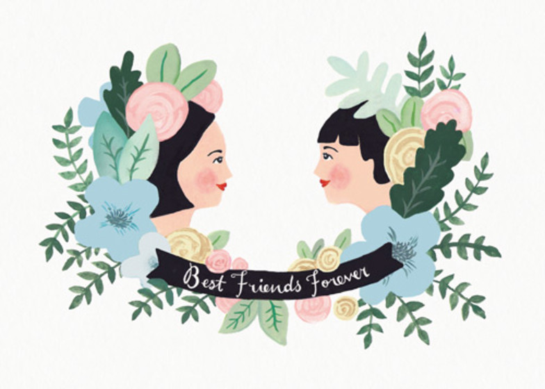 B.F.F | Personalised Greeting Card