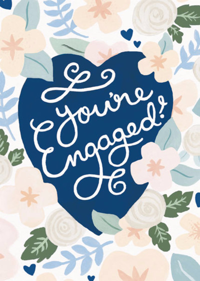You're Engaged | Personalised Congratulations Card