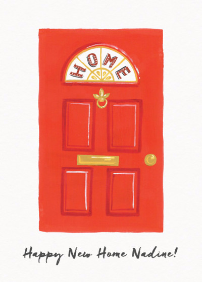 Happy New Home | Personalised Congratulations Card