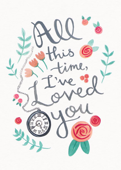 Forever Love | Personalised Greeting Card