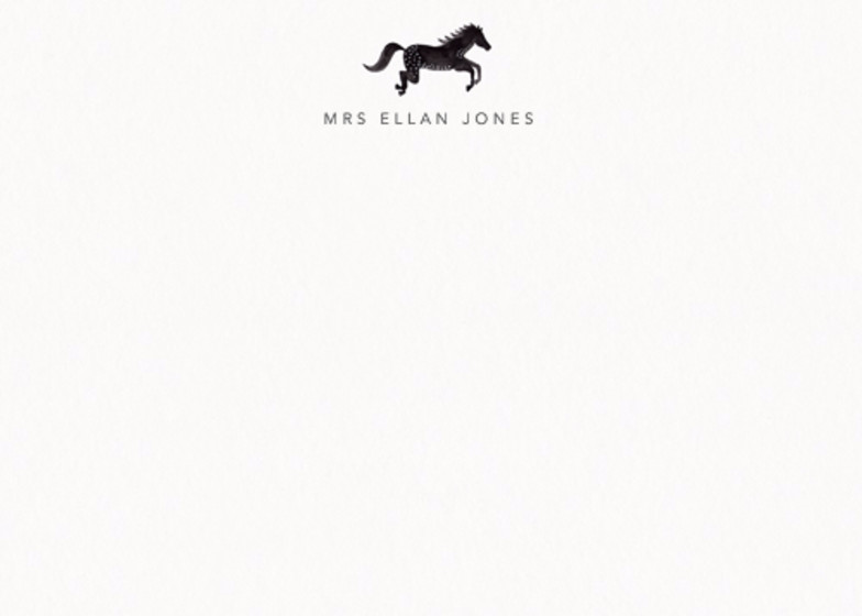 Horse | Personalised Stationery Set