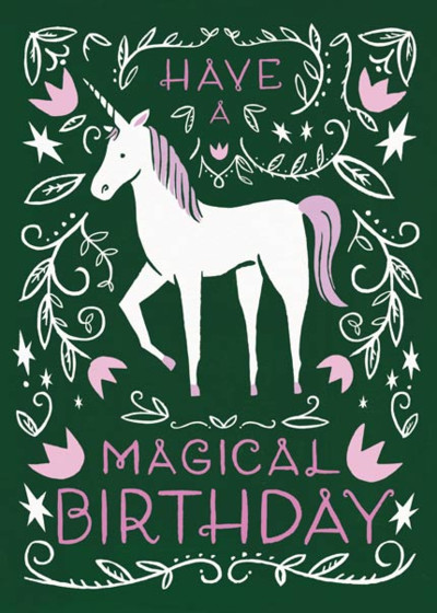 Magical Birthday | Personalised Birthday Card