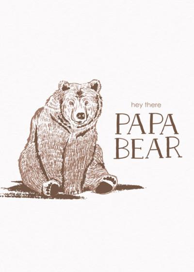 Papa Bear | Personalised Birthday Card