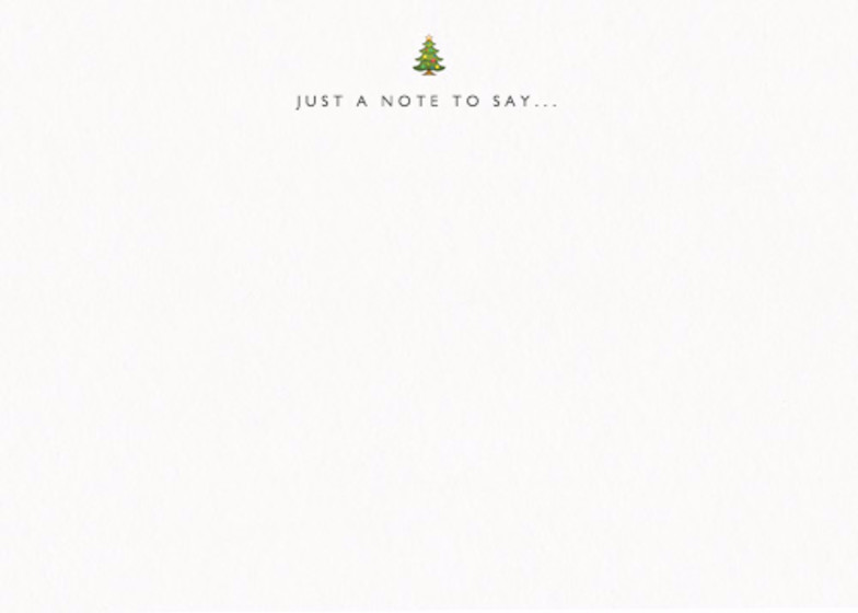 Christmas Tree | Personalised Stationery Set