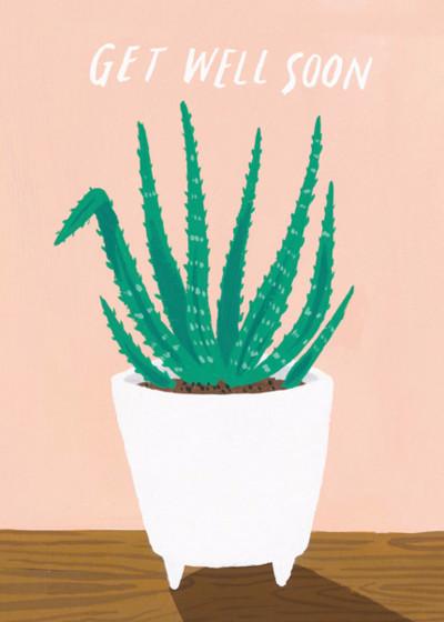 Aloe Vera | Personalised Greeting Card