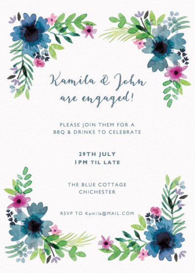 Midsummer | Personalised Party Invitation