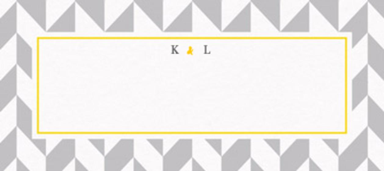 Grey Herringbone | Personalised Place Name
