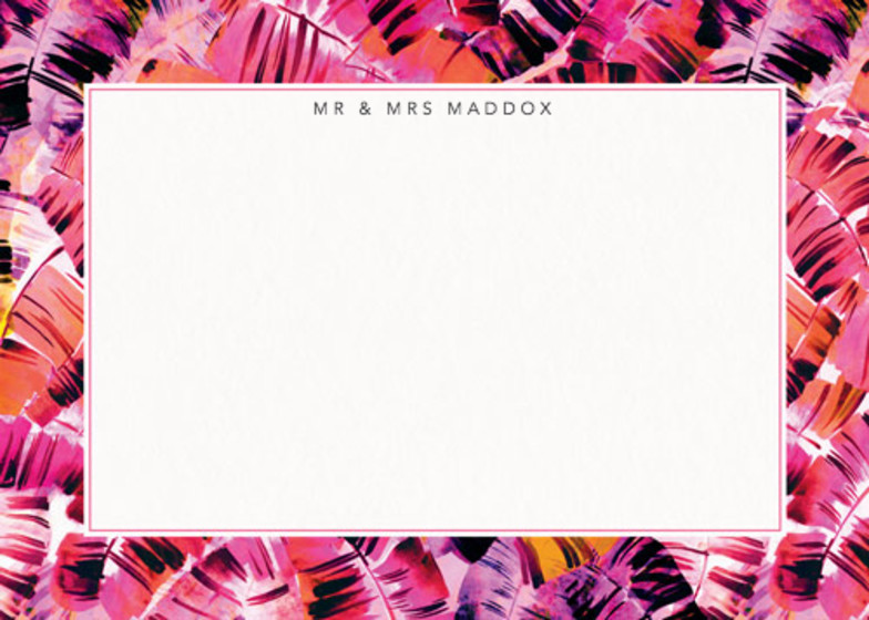 Sunset Palms | Personalised Stationery Set