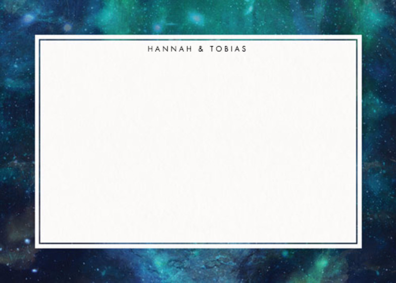 Patina Galaxy | Personalised Stationery Set