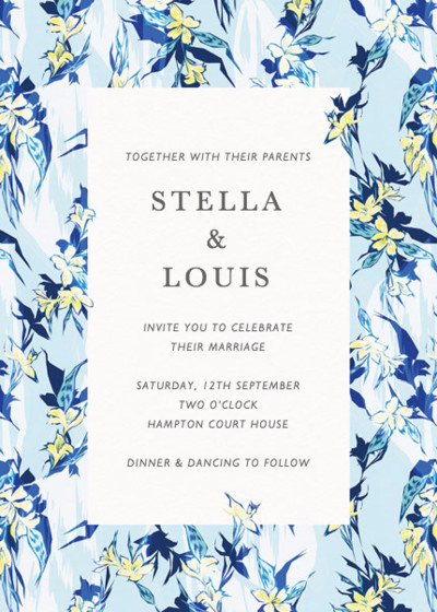Tropical Party | Personalised Wedding Invitation