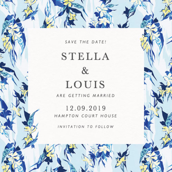Tropical Party | Personalised Save The Date
