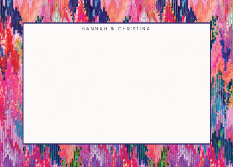 Digital Bloom | Personalised Stationery Set