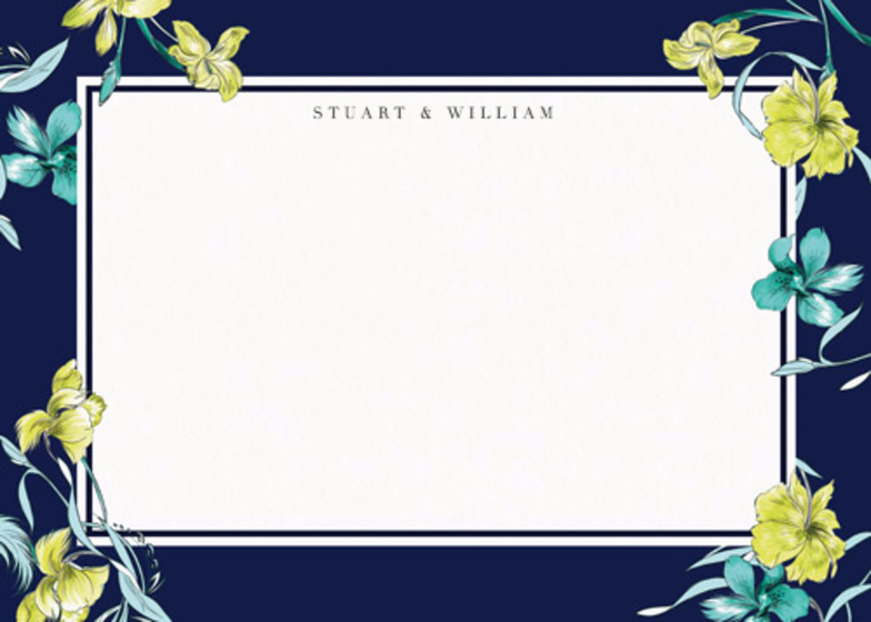 Intricate Feathers | Personalised Stationery Set