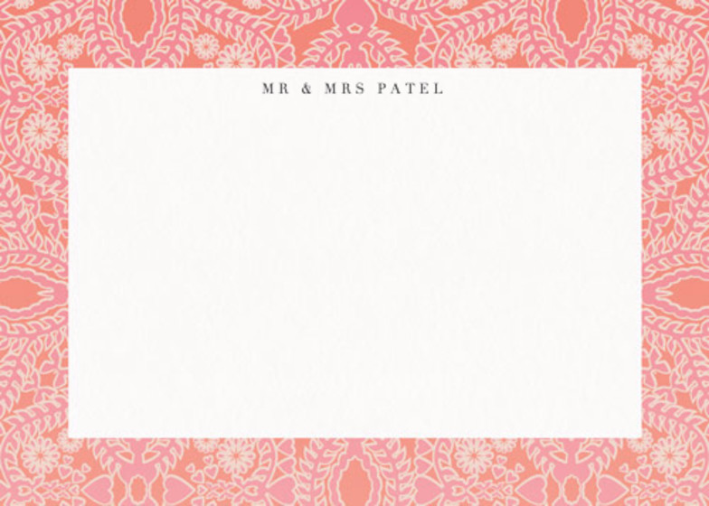 Sunset Lace | Personalised Stationery Set
