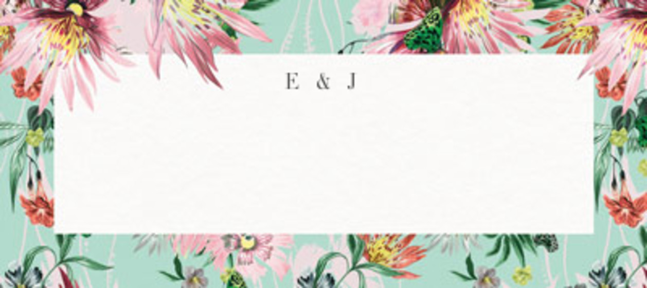 Jungle Bloom | Personalised Place Name