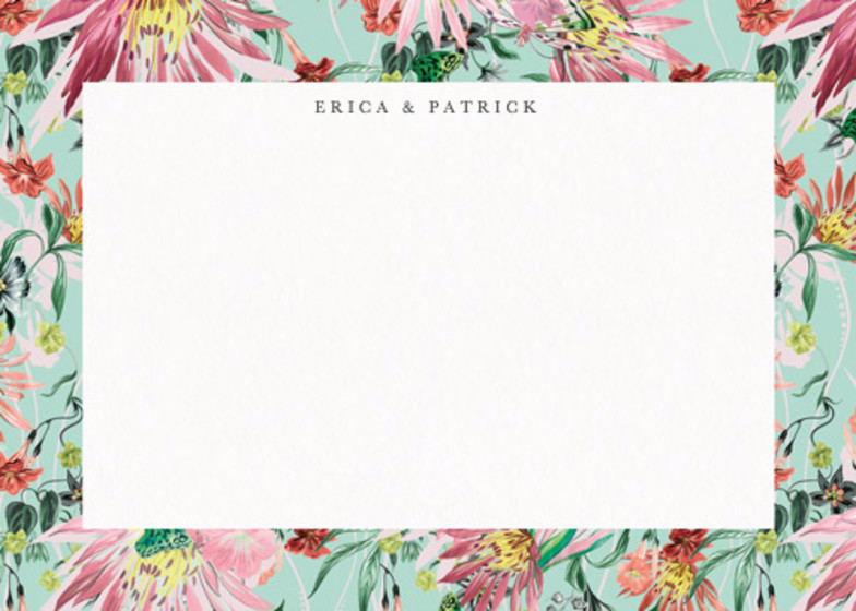 Jungle Bloom | Personalised Stationery Set