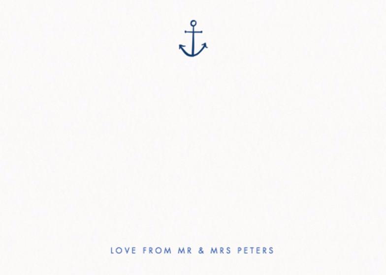 Nautical Anchor | Personalised Stationery Set