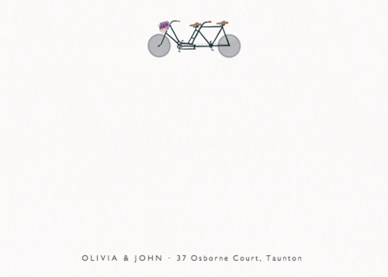 Bike Lovers | Personalised Stationery Set
