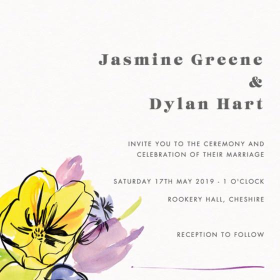 Spring Fete | Personalised Wedding Suite