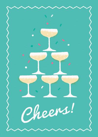 Cheers | Personalised Greeting Card