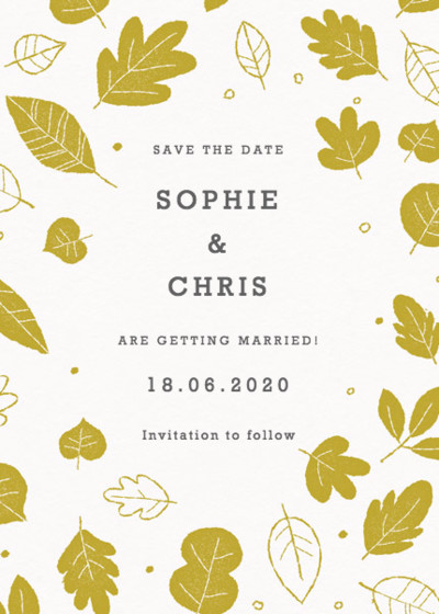 Summer Camp | Personalised Save The Date