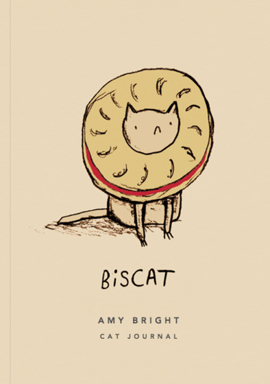 Biscat | Personalised Lined Notebook