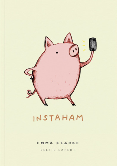 Instaham   Personalised Lined Notebook