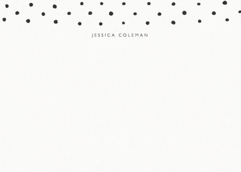 Dots | Personalised Stationery Set