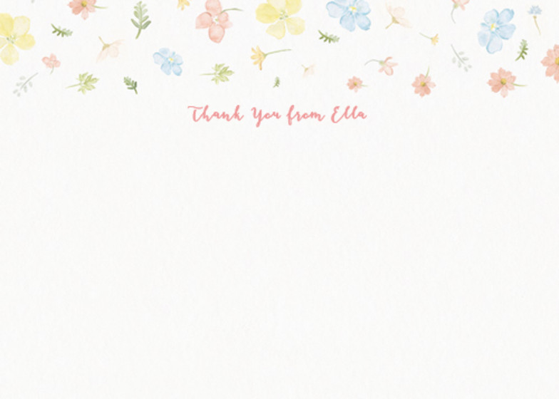 Petite Floral | Personalised Stationery Set