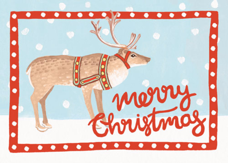 Sami | Personalised Christmas Card Set