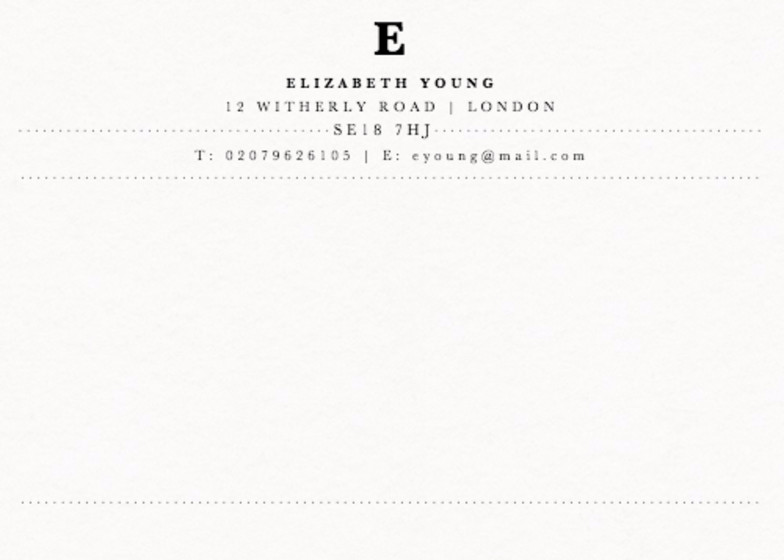 Capitale | Personalised Stationery Set