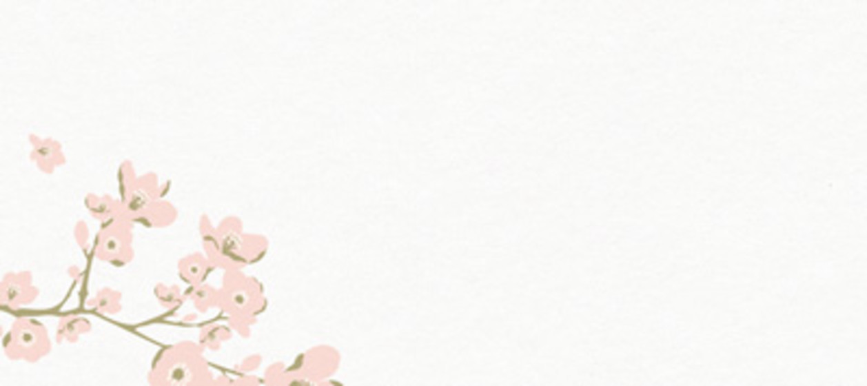 Cherry Blossom | Personalised Place Name